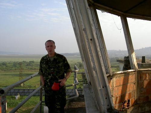 Top of the Entebbe control tower