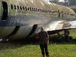 Allegedly the famous hijacked plane!!