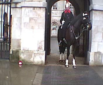 Horseguards at Buck House