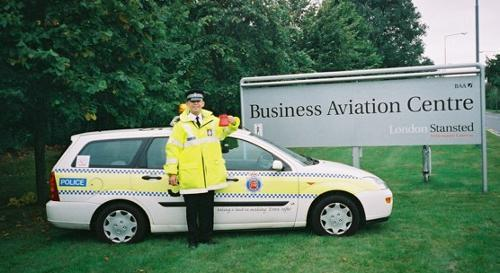 Officer Dave Leech, Stansted Airport